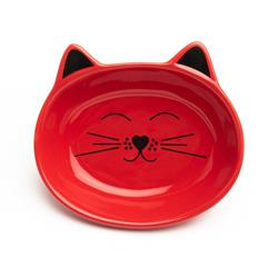Oscar Red Cat Dish