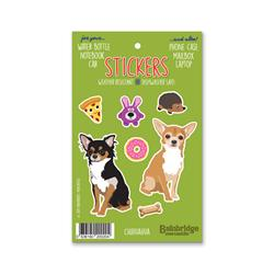 "Chihuahua - Sticker Sheet 4"" x 6.50"""