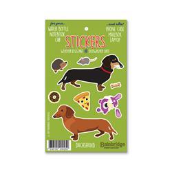 """Dachshund - Sticker Sheet 4"""" x 6.50"""""""
