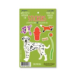 "Dalmation - Sticker Sheet 4"" x 6.50"""