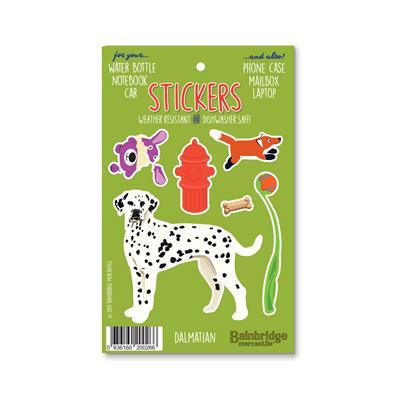 "Dalmation - Sticker Sheet 4"" x 6.50"""