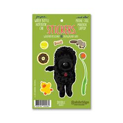 "Doodle (Black) - Sticker Sheet 4"" x 6.50"""