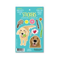 """Golden Retriever - Sticker Sheet 4"""" x 6.50"""""""
