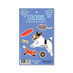 "Jack Russell Terrier - Sticker Sheet 4"" x 6.50"""