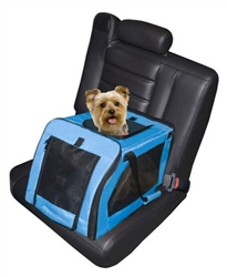 Signature Pet Car Seat & Carrier - Small in Aqua