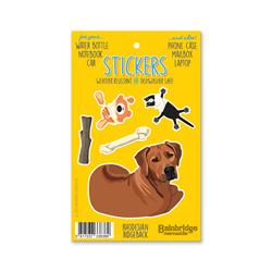 "Rhodesian Ridgeback - Sticker Sheet 4"" x 6.50"""