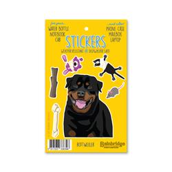 "Rottweiler - Sticker Sheet 4"" x 6.50"""