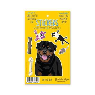 """Rottweiler - Sticker Sheet 4"""" x 6.50"""""""