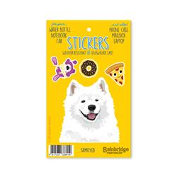 "Samoyed - Sticker Sheet 4"" x 6.50"""