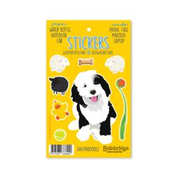 "Sheepadoodle - Sticker Sheet 4"" x 6.50"""