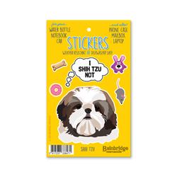 "Shih Tzu - Sticker Sheet 4"" x 6.50"""