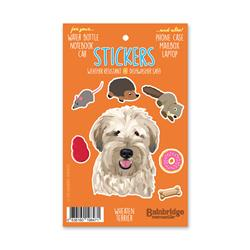"Wheaten Terrier - Sticker Sheet 4"" x 6.50"""