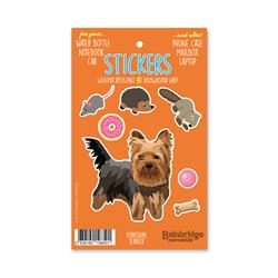"Yorkshire Terrier - Sticker Sheet 4"" x 6.50"""