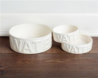 Classic Water Pet Bowl (two color options)