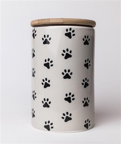 Pawz Grey Treat Jar