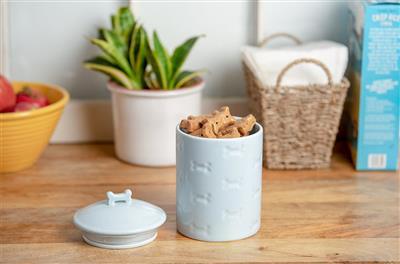 Manor Blue Treat Jar