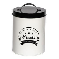 Gourmet Biscuits White Treat Canister