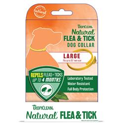 Flea & Tick Dog Collar - 6pc Large Dog Collar Counter Display