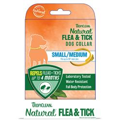 Flea & Tick Dog Collar - 6pc Sm/Med Dog Collar Counter Display