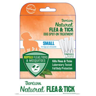 Small Dog Flea & Tick Spot-On Treatment - 6pc Counter Display