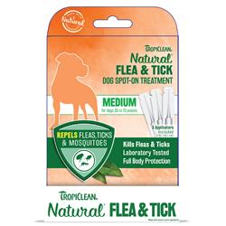 Medium Dog Flea & Tick Spot-On Treatment - 6pc Counter Display