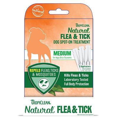 Medium Dog Flea & Tick Spot-On Treatment - 6pc Counter Display