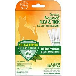 Cat Flea & Tick Spot-On Treatment - 6pc
