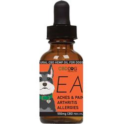 EASE - Full Spectrum Hemp CBD Oil for Dogs - 550mg/2oz.