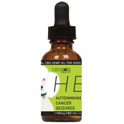 HEAL - Full Spectrum Hemp CBD Oil for Dogs - 1100mg/1oz.