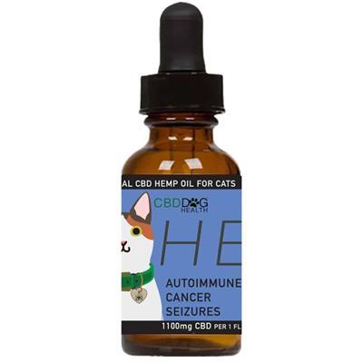 HEAL - Full Spectrum Hemp CBD Oil for Cats - 1100mg/1oz.