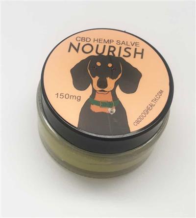 NOURISH - Full Spectrum Hemp CBD Coconut Salve for Dogs - 150mg/1 fl. oz.