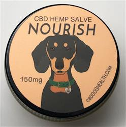 NOURISH - Full Spectrum Hemp CBD Coconut Salve for Dogs - 150mg/1 fl. oz.