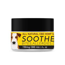 SOOTHE - Full Spectrum Hemp CBD Salve for Dogs - 150mg/1 fl. oz.