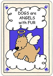 Crunch Card - Dogs are Angels
