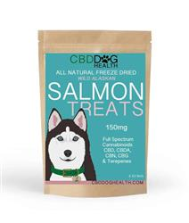 CBD Oil Freeze Dried Salmon Treats for Dogs
