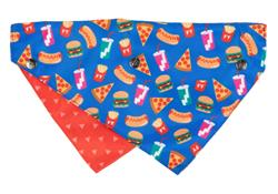 Supersize Me - Reversible Collar Bandana with Studs