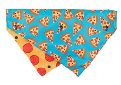 Pizza Lyf - Reversible Collar Bandana with Studs