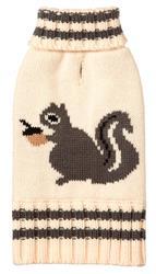 Squirrel Cream Sweater