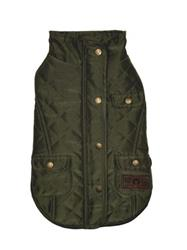 fabdog Olive Quilted Barncoat