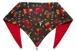 Beary Chrismoose Holiday ArfScarf