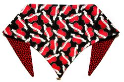 Hugs and Kisses/ Red ArfScarf