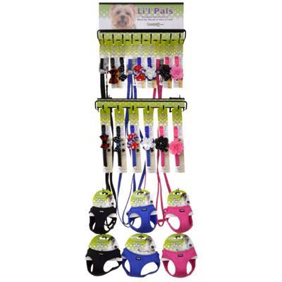 Li'l Pals® Microfiber Collar, Leash and Harness Display