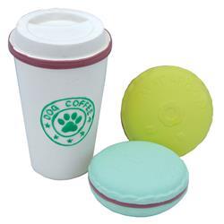 "3.5"" Coffee Cup & Cookies Li'l Pals® Latex Toy Set"