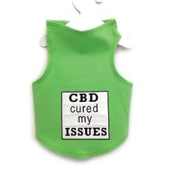 CBD Cured My Issues Tank by Daisy and Lucy