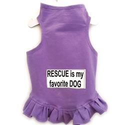Rescue is my Favorite Flounce Dress