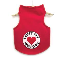 Love My New Family Tank by Daisy and Lucy