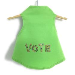 VOTE in Multi-colored Studs Tank by Daisy and Lucy