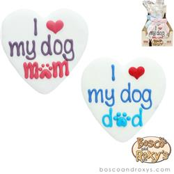 Fido Says, I Love My Dog Mom + I Love My Dog Dad, 10/Case, MSRP $5.99