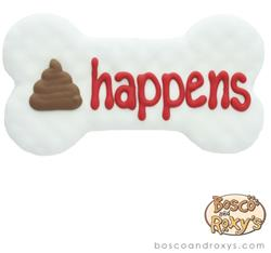 Fido Says, Poop Happens, 10/Case, MSRP $5.99