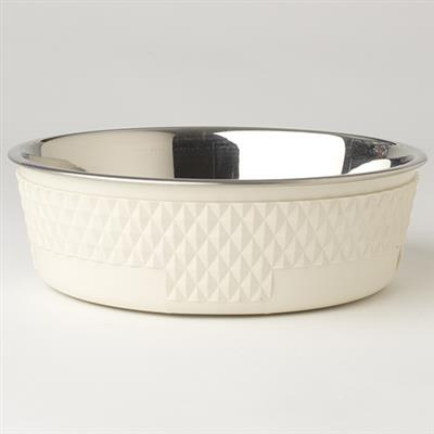Kona Dinner Bowl Collection in Antique White